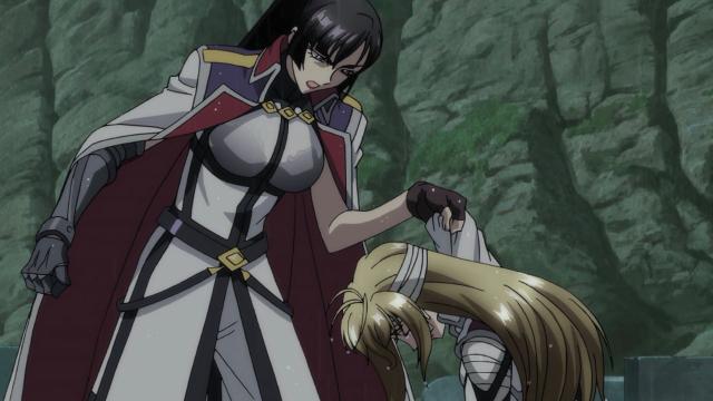 A comandante, famosa por não ter nenhum juízo, tenta colocar um pouco na cabeça de Ange