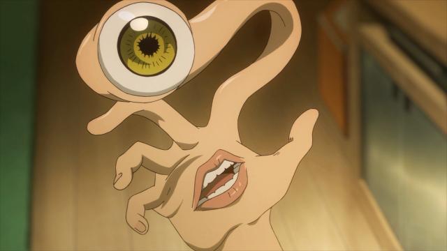 Migi não entende porque Shinichi se preocupa com outras pessoas