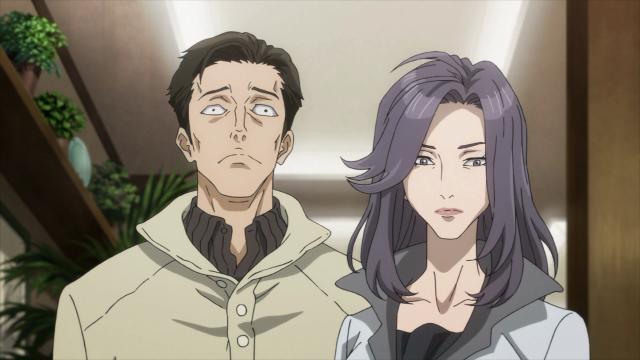 Ryouko e A, dois parasitas com comportamentos muito diferentes
