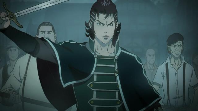Kaisar pronto para enfrentar os monstros que atacam Nebelville