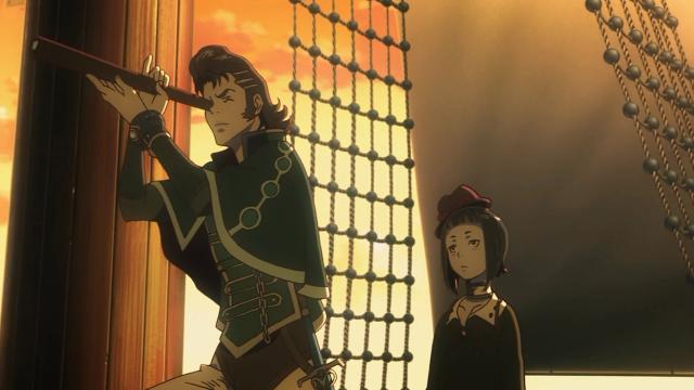 Kaisar e Rita arranjam um navio e partem na cola de Favaro