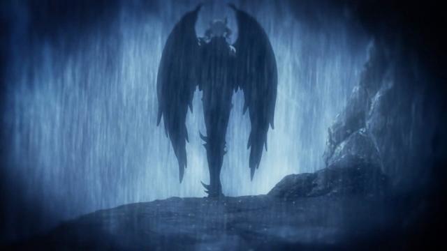 O demônio que matou todo o bando de Barossa e fez um pacto com Amon - É Azazel sim ou com certeza?