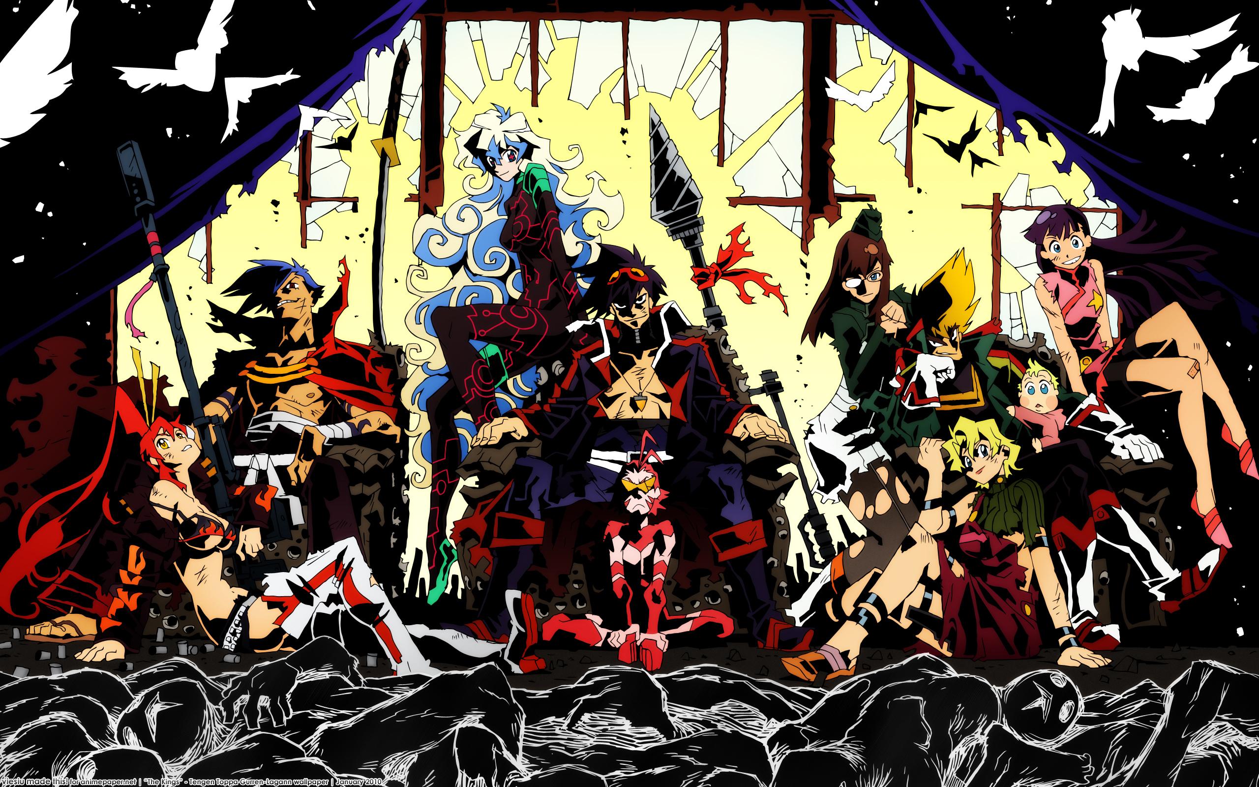 Imagem  qualquer de Gurren Lagann, porque esse anime tá no meu TOP 10