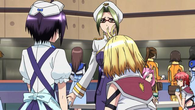 Emma não se conforma que Momoka seja empregada particular de Ange. Eu também não