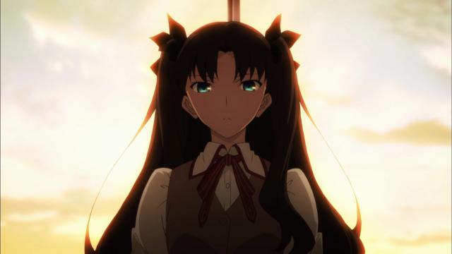 Rin, determinada a matar Shirou ela mesma