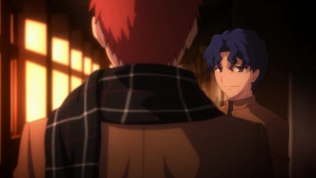 Shinji admite que é um mago e que a barreira na escola era obra dele