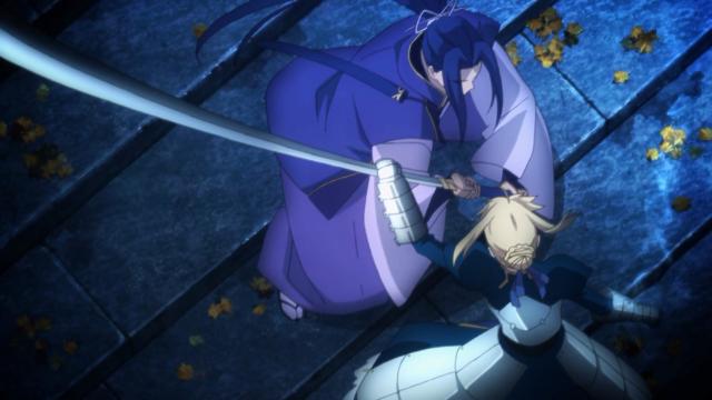 Saber luta contra Assassin, Sasaki Koujirou