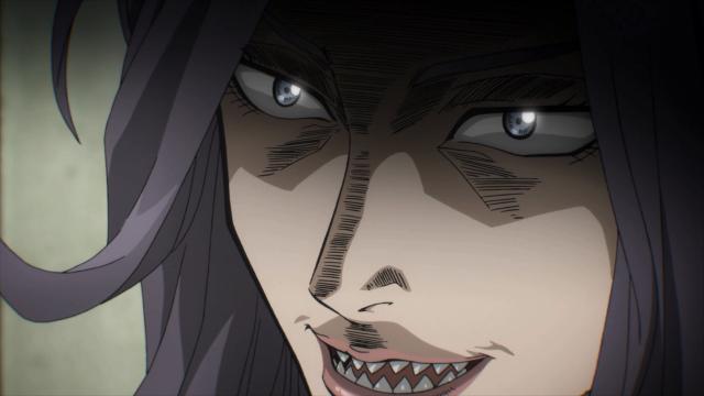 Ryouko responde que devorar seres humanos é o seu chamado enquanto espécie