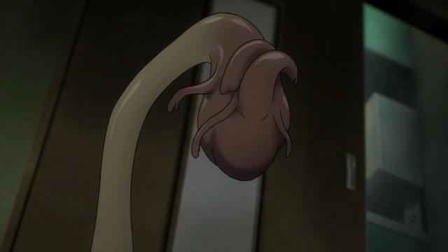 Migi cria um coração provisório ...