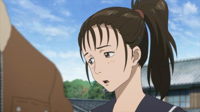 Maki está preocupada com Shinichi