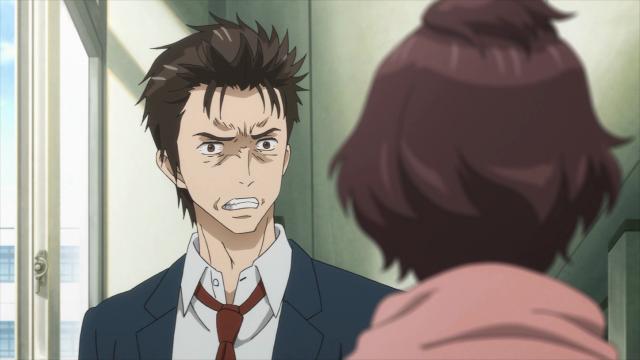 Shinichi está absorvido demais em seus pensamentos e acaba mostrando seu rosto cheio de ódio para a Murano