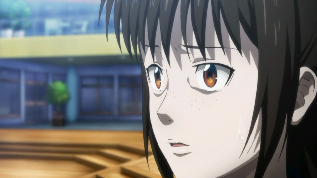 A covardia no rosto de Shimotsuki
