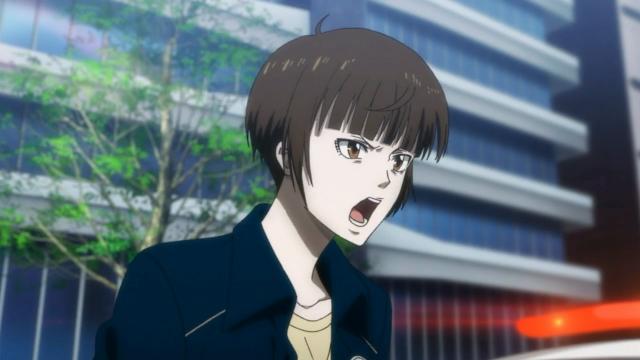 A cólera no rosto da Tsunemori
