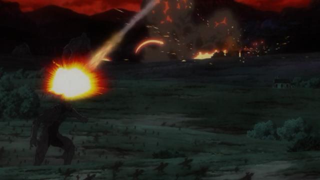 Bombardeio sobre o exército demoníaco