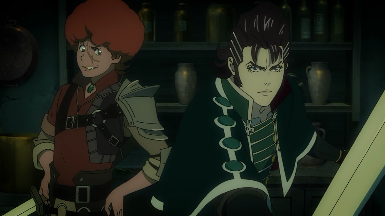 O Favaro mais Favaro do episódio, e o Kaisar mais Kaisar do episódio. Lutando juntos