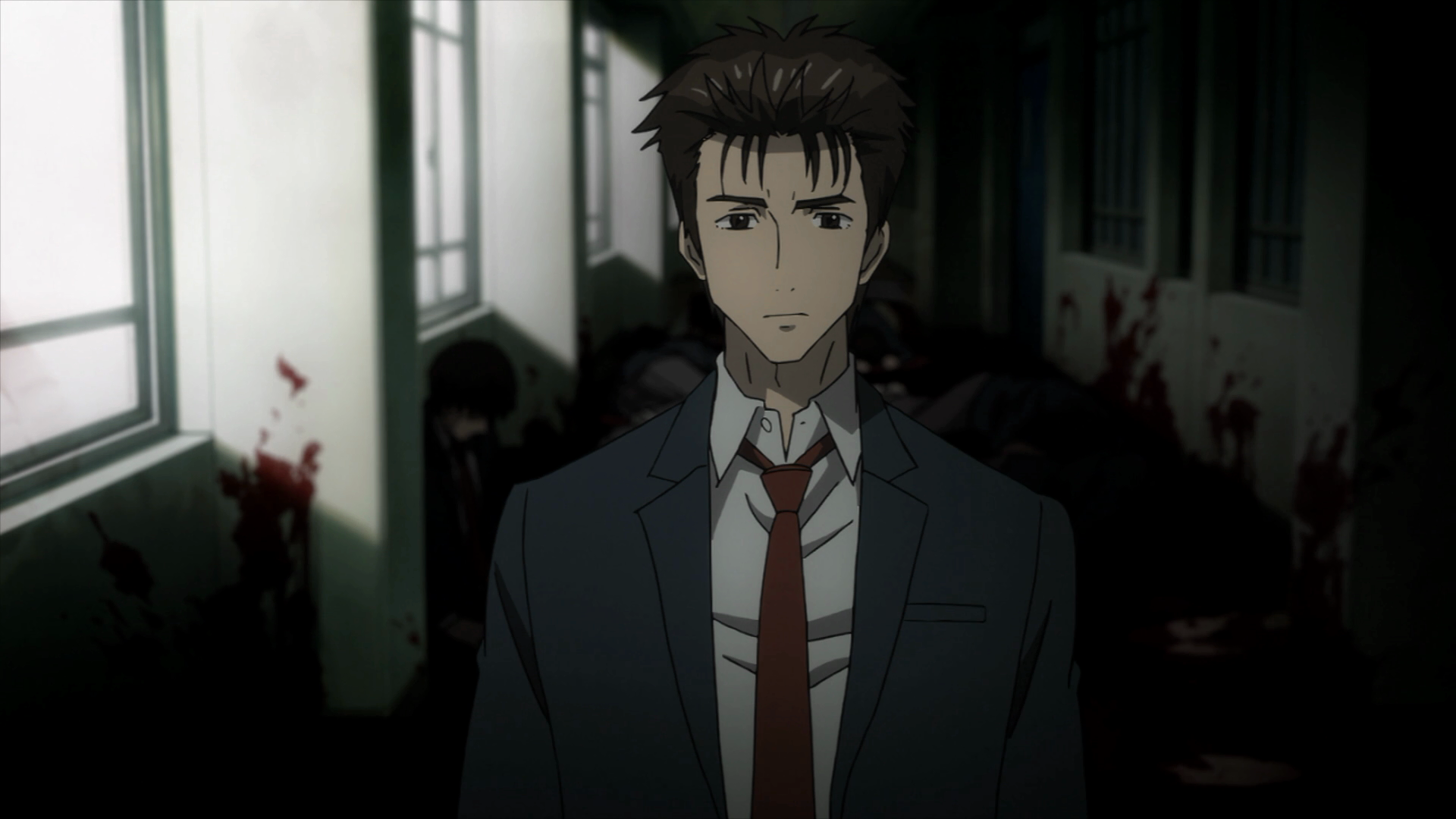 O novo Shinichi consegue suportar a pressão e fazer o que deve ser feito