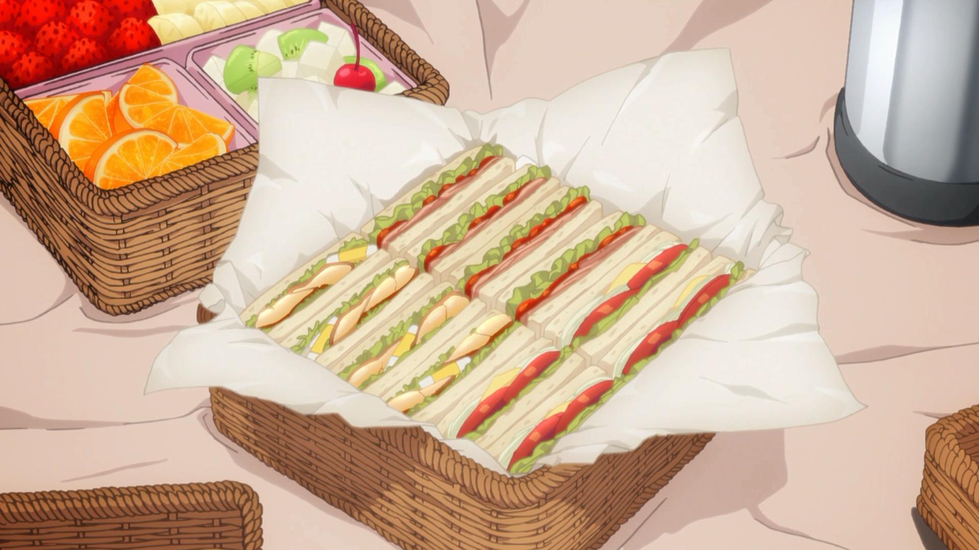Imagem de comida é mais interessante que essa temporada de Fate/Stay Night na média