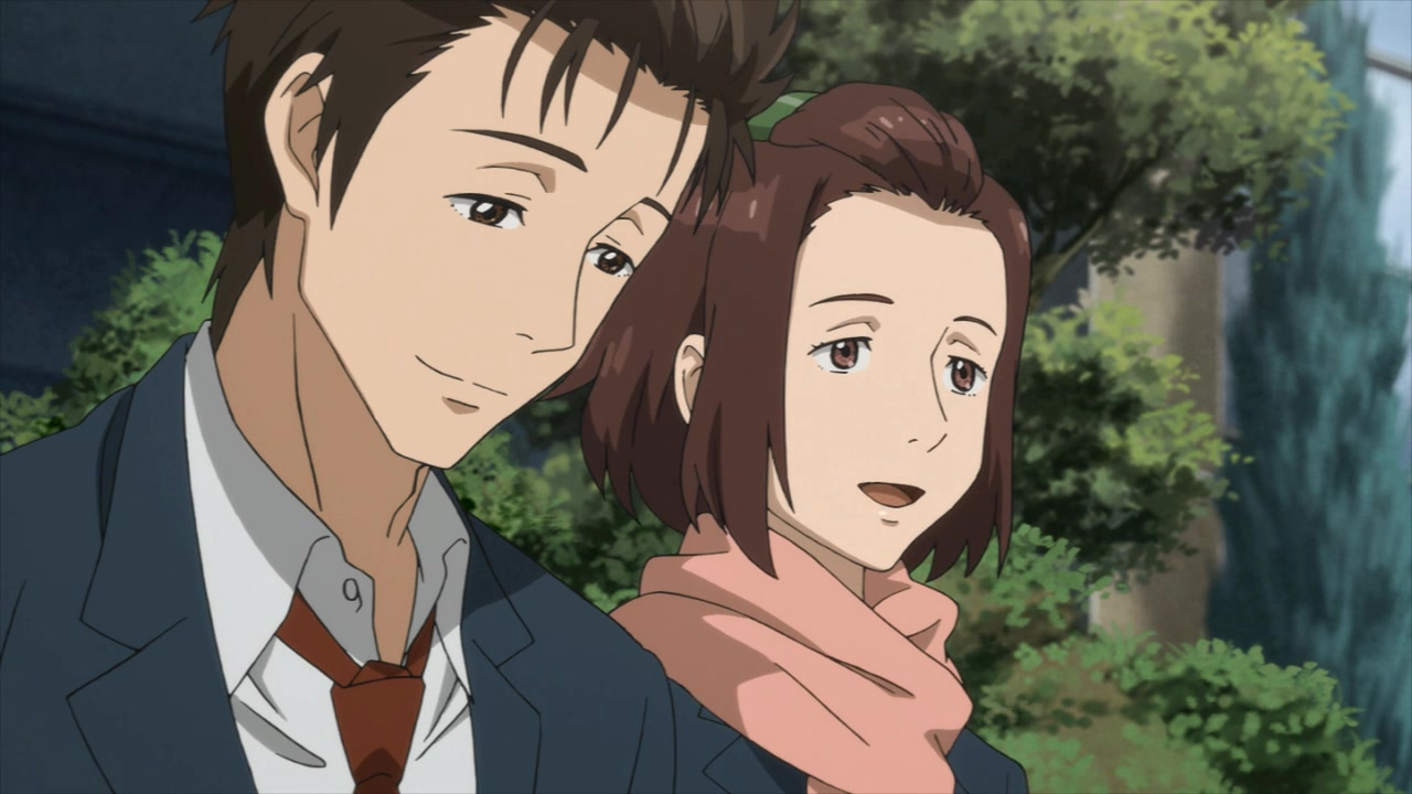 Shinichi e Murano se lembrando de quando Kiseijuu era bom