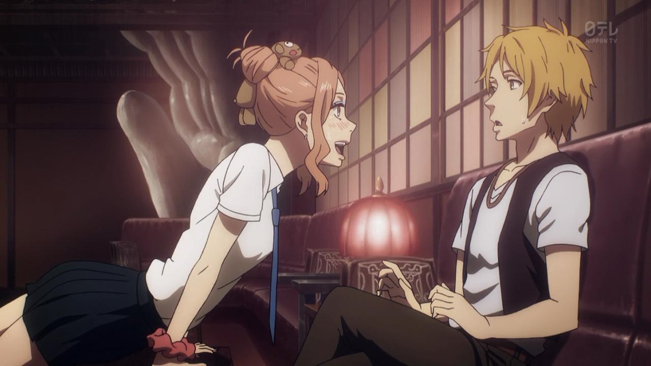 A felicidade sem freios de Mayu diante de Harada, seu ídolo