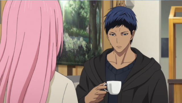 """Dai-chan... Isso é chá de cogumelos."""