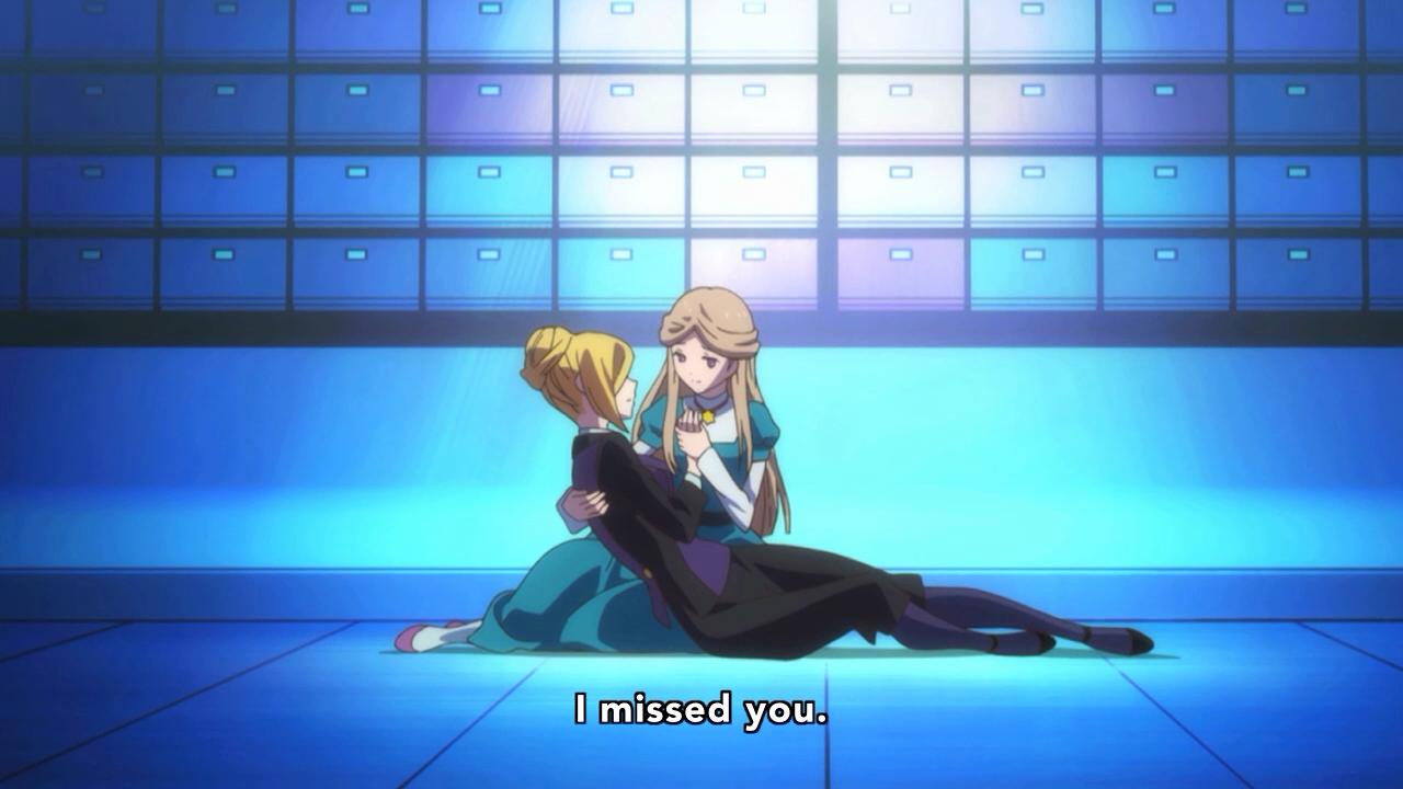 Momentos finais de Yurika nos braços de Reia (?)