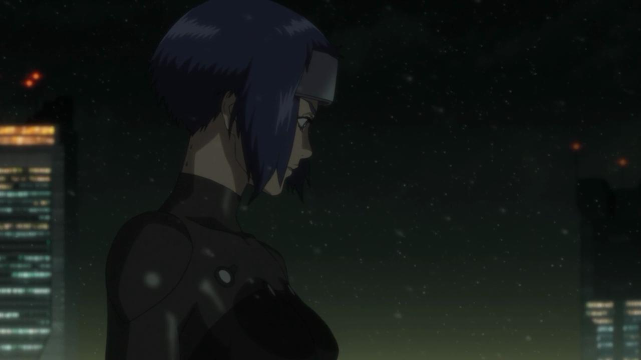 Major Motoko Kusanagi, a protagonista