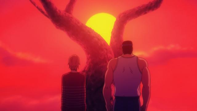 O primeiro encontro a dois do anime, sim,é entre os dois.