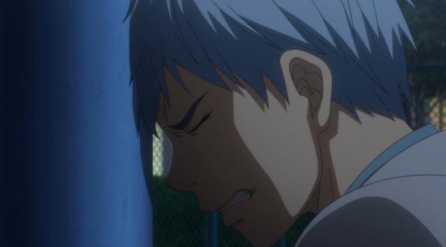 Não desista, jovem Kurokocchi! Força!
