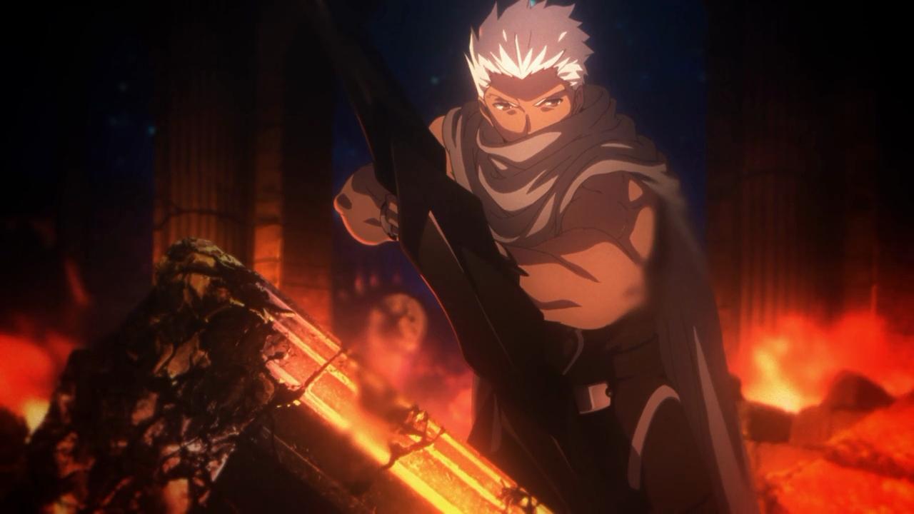 Shirou já convertido em guardião