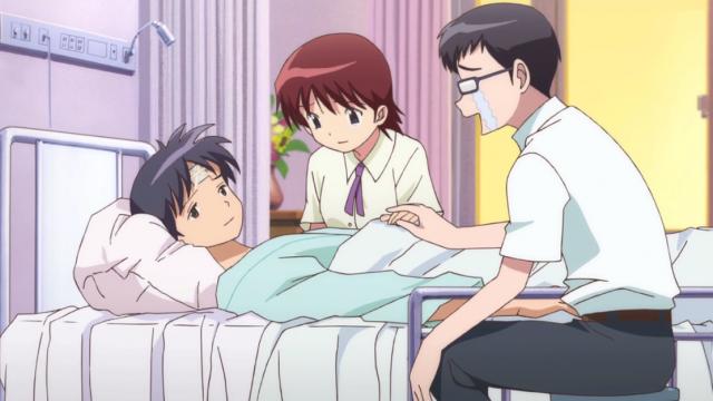 Final feliz, como sempre. Será que o Rokudou-kun vai falhar algum dia?