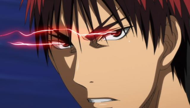 Kagami impaciente, nem pra guardar os truques pra mais tarde, tsc tsc...