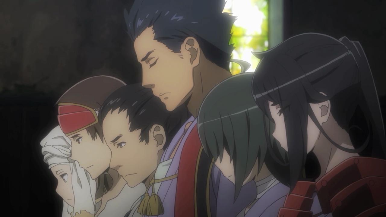 Os filhos do Takemikazuchi estão arrependidos de terem aprontado para o Bell