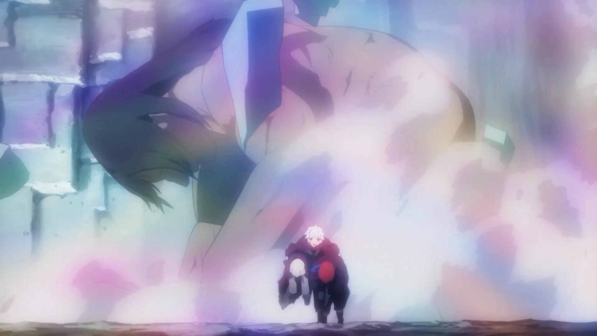 E depois desse episódio Bell adquiriu a habilidade de morder o dedo e virar um gigante