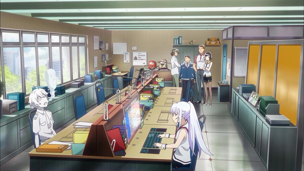 O Tsukasa não está parecendo bem. E a Isla nunca parece bem, então não sei