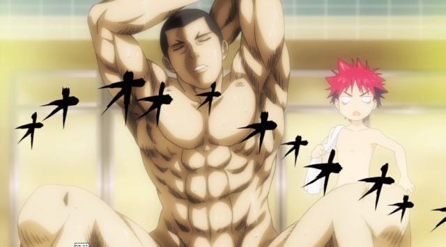 Doujima reconheceu o sobrenome Yukihira. Hmmn, aí tem coisa.