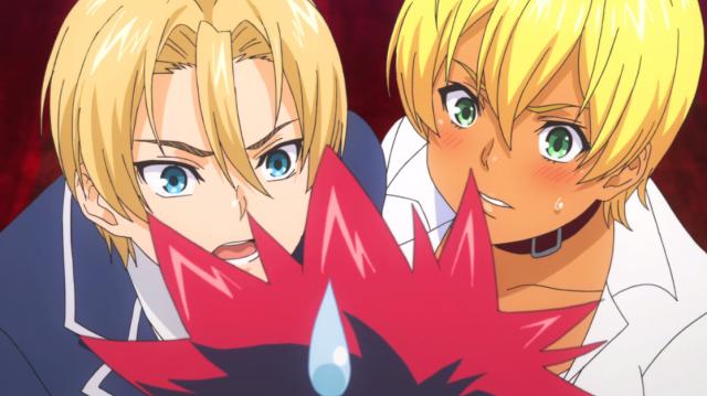 Takumi e Nikumi, dois dos melhores adversários do Souma? Vou shippei.  <3
