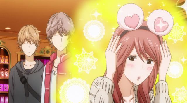 Ela sempre muda pelo Takeo. PS: Hayato e Suna dariam ótimos amigos.