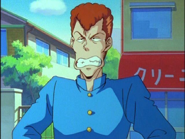 Kazuma Kuwabara, YuYu Hakusho