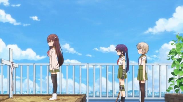 A cruz é para Megumi, mas o laço é realmente dela?