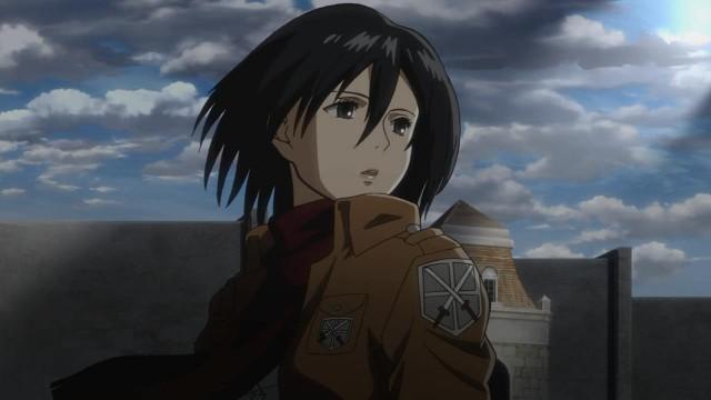 Mikasa Ackerman, Ataque dos Titãs
