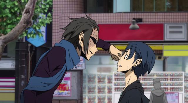 """Peguei o seu nariz!"""