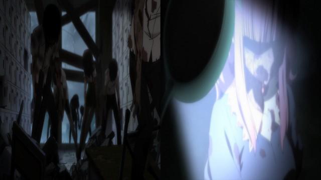 """""""Aquela barricada está reforçada com nossas esperanças e o amor da Megu-nee."""""""