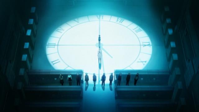 12 pessoas para um relógio de 12 horas