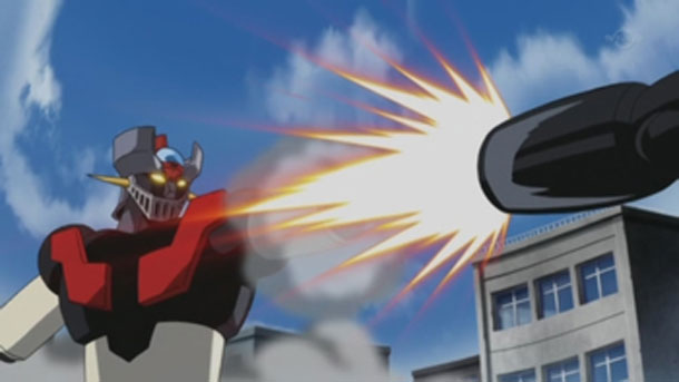 "Mazinger Z - ""Rocket Punch!"""