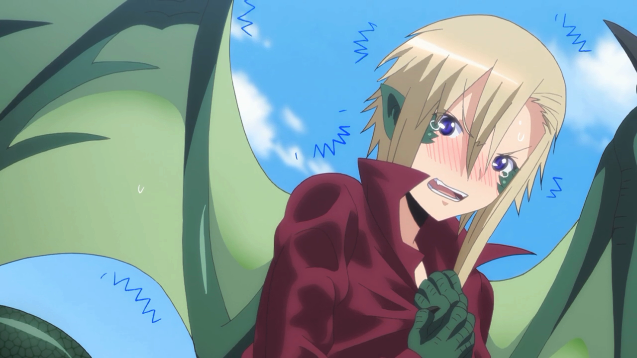 Draco, a dragonete tsunderê