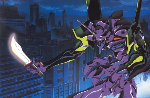 """Neon Genesis Evangelion - """"Entra no robô, Shinji!"""""""