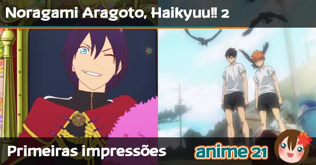 Primeiras-impressões---Noragami-Aragoto,-Haikyuu!!-2