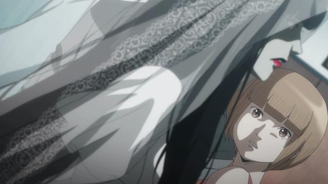 O momento em que Moe e Magaki se encontram: apenas Moe a reconheceu