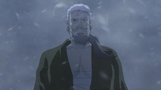O velho ficou o dia inteiro esperando no meio da nevasca aparecer uma criança perdida pra ele salvar e parecer legal