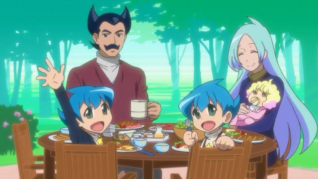 A família que Earth-chan sonha ter